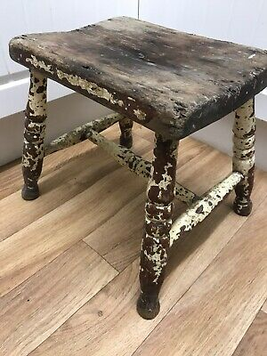 Antique Original French Stool