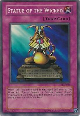 4x 1Statue of the Wicked - PGD-046 - Super Rare Unlimited New Pharaonic