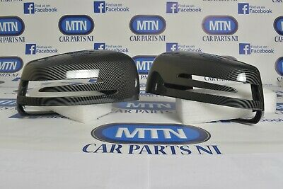 Mercedes Carbon Fibre Mirror Covers A B C CLA CLS E S Class  W176 W221 W204