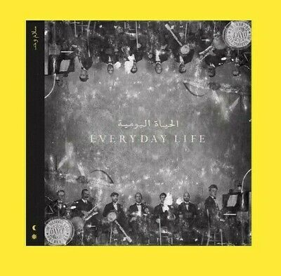 COLDPLAY new album EVERYDAY LIFE on CD * November 2019 release * For Christmas *