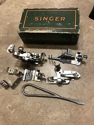 Singer Sewing Machine Simanco Attachments 120598 160359 36865 35931 120855