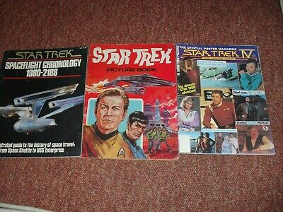 3 Oldish Star Trek Magazines