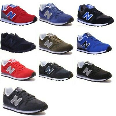 New Balance 373 Unisex Wildleder Moderne Athletic Low Cut Sneaker Größen UK 3 -