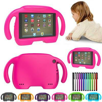 Kids Safe Handle Cover Stand Case EVA For Amazon Kindle Fire 7 2017/ HD 8 Alexa