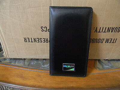NEW 3 DISCOVER Check Holders Credit Card Restaurant Bill Receipt Presenter
