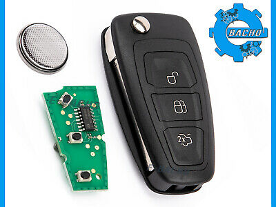 TELECOMMANDE CLE POUR FORD FOCUS C-MAX KUGA MONDEO B-MAX 433MHz ID63 11713499