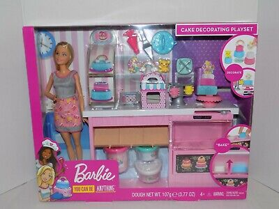 Barbie Cake Decorating Bakery Playset Mattel You Can Be Anything