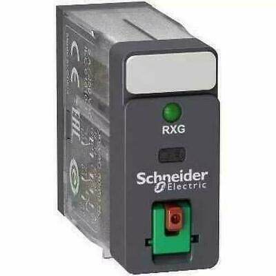 Schneider Electric RXG22M7 Relay LED 2CO 220V, 2Co 5A Relay Ltbled 220Vac