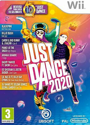 Just Dance 2020 Nintendo Wii Game Brand New Sealed Official