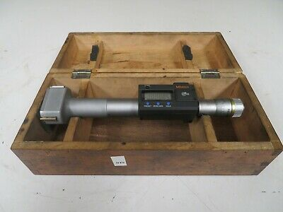 """Mitutoyo 468 2.0 -2.5"""" .00005"""" HTD Digimatic Holtest Internal Micrometer NT9"""