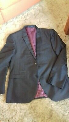 Next Tailored Suit Jacket 42r Trousers 36 waist inside leg 33 inches