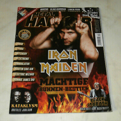 Rock Hard Nr.12/2017 [Iron Maiden,Gwar,In Extremo,Electric Wizard, Dio]