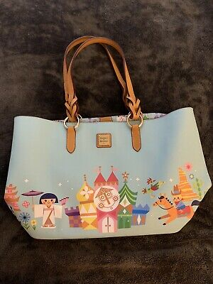 Disney Parks Dooney & Bourke It's A Small World 2019 Large Tote ~ NWT