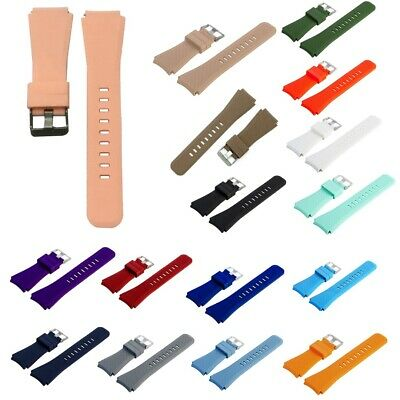 Replacement Silicone Band Strap Watch Bracelet For Samsung Gear S3 Frontier 22mm