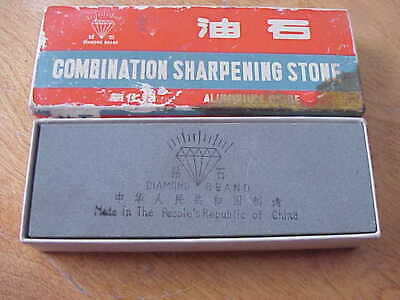 New Diamond Brand Combination Double Grit Sharpening Stone Aluminum Oxide