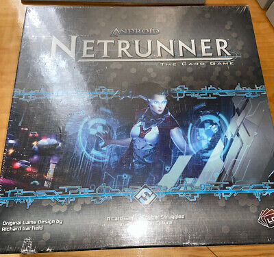 Android Universe Netrunner The Card Board Game NEW Sealed Seven Repos Gift ADN01