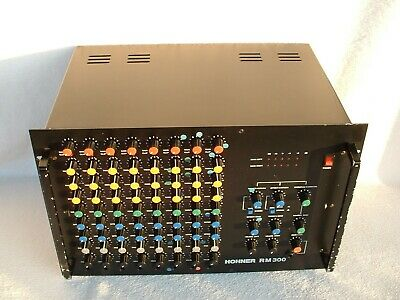 HOHNER RM 300 W-GERMANY POWERMiXER 8 Channel 2 x 150 Watt Mixer Mischpult Amp