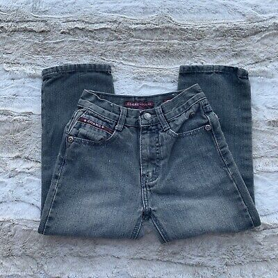 premium jeans chams size 6 youth boys route 506 grey