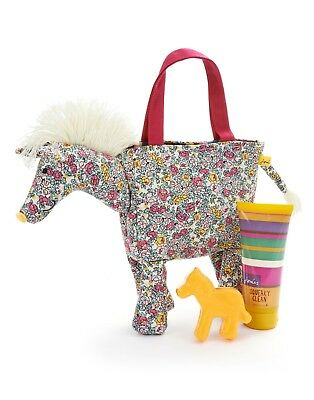 Joules Cute Girl Winnie The Horse Wash Bag New With Tag Gift  Limited