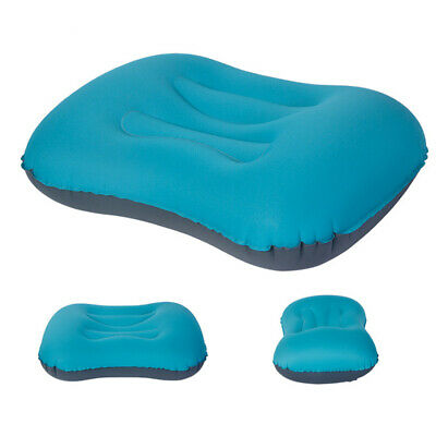 Portable Camping Hiking Pillow Inflatable Air Pillow Outdoor Travel Cushion Pad