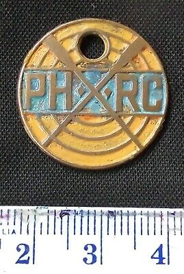 Vintage (1930's) Power House Rowing Club member ID brass tag.