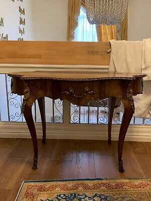 Antique Original Walnut Burr Table Very Rare