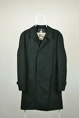 Mens Burberry Brit Double Breasted Rain Trench Jacket Size 48 (M)