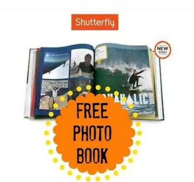 Shutterfly 8X8 Hard Cover Photo Book Code expires 1/31/2020