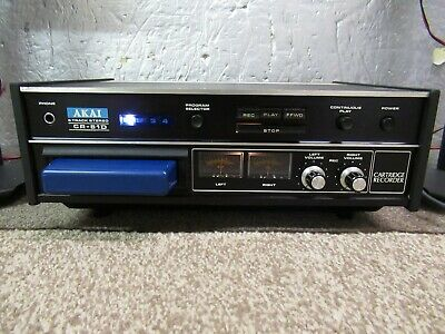 AKAI CR-81D 8Track Stereo Player/Recorder (Working)
