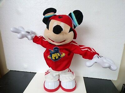 Disney Mickey Mouse M3 Fisher Price Master Moves Mickey Hip Hop Break Dancing
