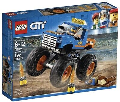 Lego City Monster Truck (192 pieces) #60180