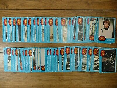 95 Near Mint VINTAGE Star Wars 1977 TRADING CARDS Blue Set TOPPS Series 1 NM Gum