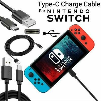 3M USB Charger Type-C Charging Cable Power Lead only FOR Nintendo Switch
