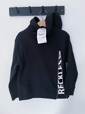 BNWT  Zara Boys Hooded Reckless Zip Jumper Age 5