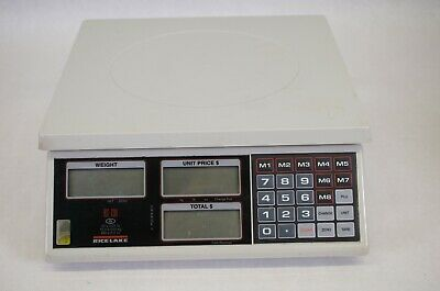 Rice Lake Weighing Systems RS-130 Price Computing Scale, 30 lb x 0.01 lb