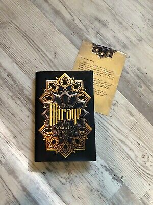 OwlCrate Exclusive September 2018 SIGNED Book: Mirage by Somaiya Daud