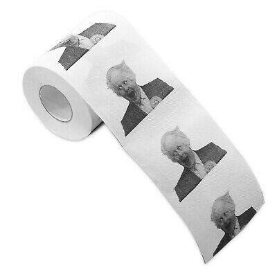 Boris Johnson Toilet Paper Rolls Funny Novelty Gift - Ideal Christmas