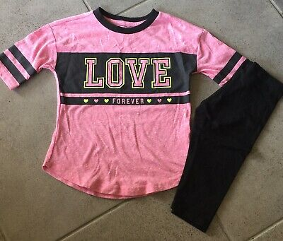Girls Love Capri Outfit Size 4/5