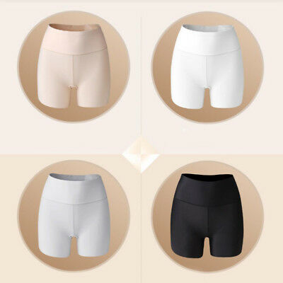 3 Colors Women Elastic Safety Lace Ice Silk Under Shorts Pants Leggings Render