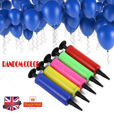 Party Hand Air Pump Balloon Swimming Ring Inflatable Toy Inflator Easy & Fast