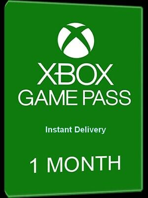 Xbox Game Pass 1 Month Trial Subscription Code-Xbox One ,Xbox 360/ instant 24/7