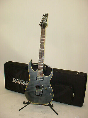 Ibanez RG721FM RG Series Premium Electric Guitar 2016 Black Ice Flat