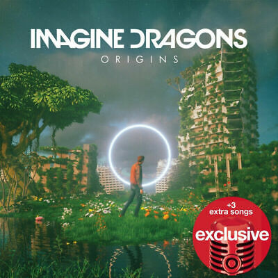 IMAGINE DRAGONS Origins LIMITED EDITION EXPANDED TARGET CD threeBONUS TRACKS NEW