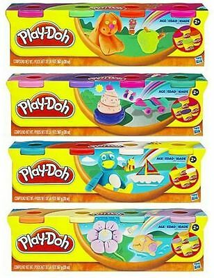 Hasbro - Play-Doh 4 Tubs Pack (colours will vary/one supplied) - Brand New