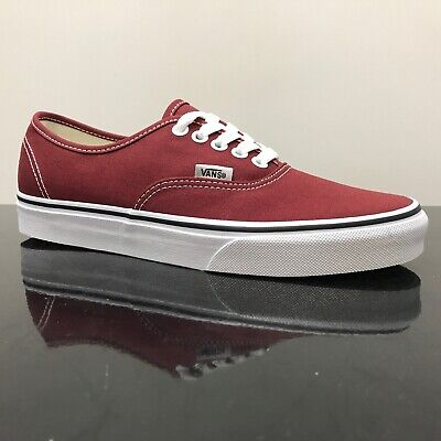 Vans Authentic Madder Brown True White Trainers