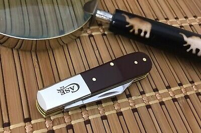 Case XX USA Classy 2019 Smooth BROWN Stainless CA11792 Barlow Pocket Knife