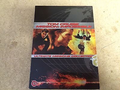 Neuf DVD Film Mission : Impossible Trilogie Coffret