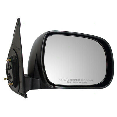 New Pair Set Manual Side View Mirror Textured Assembly for 05-11 Toyota Tacoma