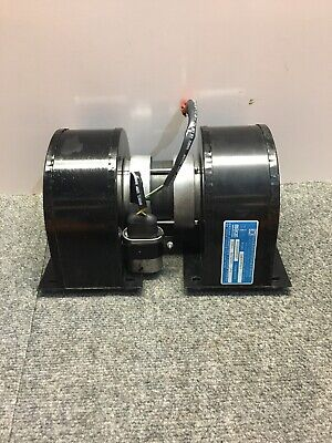MCLEAN ENGINEERING DUAL SHAFT FAN MOTOR SU59FG2IX,230v, 240watts out With Fans