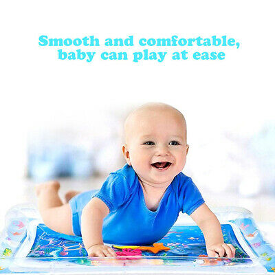Baby Inflatable Water Mat Infant Toddlers Mattress Splash Play mat Tummy Time